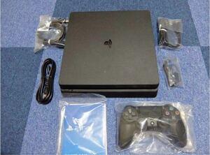【超美品】PlayStation 4 ジェット・ブラック 500GB 初期化・動作確認済み 箱付き