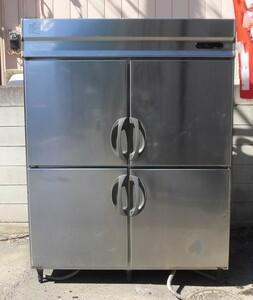 【保証付/中国語可】フクシマ 業務用4ドア縦型冷凍冷蔵庫 2凍2蔵 URD-52PMTA1 幅1500 奥850 高1950mm 三相200V MT2003201352