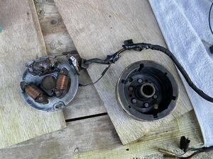 RG250E ジェネレーター ピックアップコイル ダイナモ フライホイール