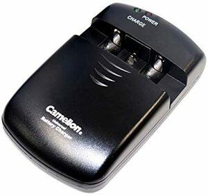ブラック Camelion ユニバーサルチャージャー LBC-313 ニッケル リチウムイオン電池 カメラ ビデオ用バッテリー充