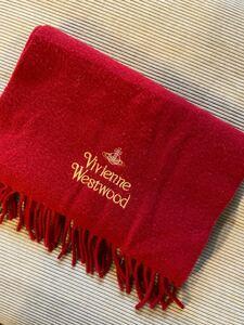 【Vivienne Westwood】 ヴィヴィアンウエストウッド ウールマフラー ストール