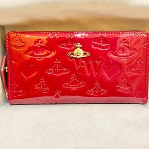 Vivienne Westwood ビビアン 赤 長財布 レッド