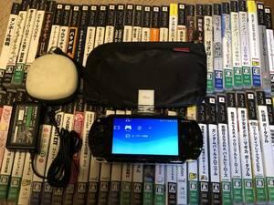 SONY PSP-1000 おまけ多数 ソフト被りなし60本