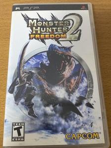 モンスターハンターポータブル2nd Monster Hunter Freedom 2 海外版 北米版
