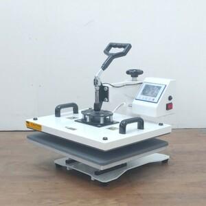 QuickArt/クイックアート スイングミニワイドプレス機 ヒートプレス機 JL-CO005B 100V 1300W 衣類用