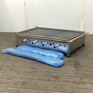 卓上ガスグリドル 未使用品 鉄板 都市ガス 幅770×奥行465 業務用鉄板 厨房