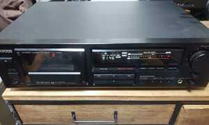 KENWOOD 3ヘッドカセットデッキ KX-4520 録音再生可能ジャンク