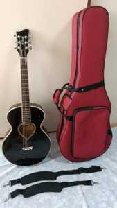 (原則手渡限定used送料込み)JJ Heart アコースティックギター セミハードケース付き 女性向け やや小ぶり ハート型ホール 発送希望は応相談