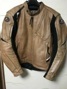 クシタニ イグニッションジャケット k0643 Mサイズ USED現状 レザーライダース