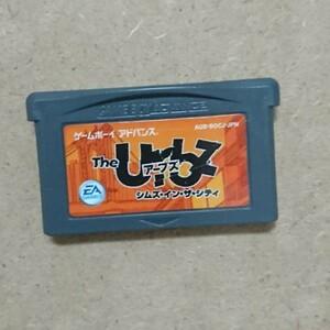 GBA ゲームボーイアドバンス ソフト「ザ・アーブズ・シムズ・イン・ザ・シティ」