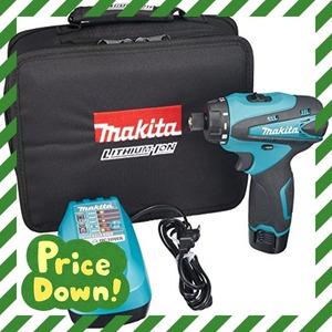 緑 マキタ(Makita) 充電式ドライバドリル 10.8V 本体付属バッテリー1個搭載モデル DF030DWSP