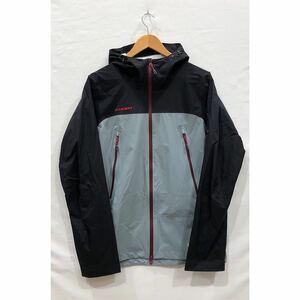 【MAMMUT】 DRYtech MICROLAYER Jacket マムート ナイロンジャケット 1010-25330 XL GRY ナイロン ドライテックマイクロレイヤー ts202109