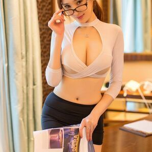 ミニスカ コスプレ OL 教師 先生 セパレート オープンバスト タイトスカート sexy エロカワ Tバック コスプレ衣装