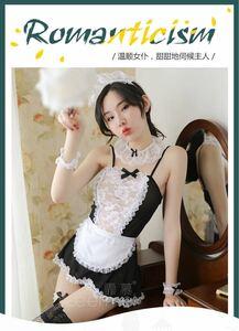 メイド服 コスプレ セクシー ベビードール 萌え ブラック&ホワイト エロ可愛い コスプレ衣装