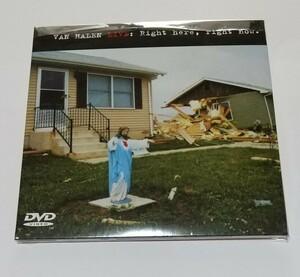 2CD+DVD輸入盤リプロ盤 ヴァン・ヘイレン 3枚組 Live Right Here, Right Now Van Helen