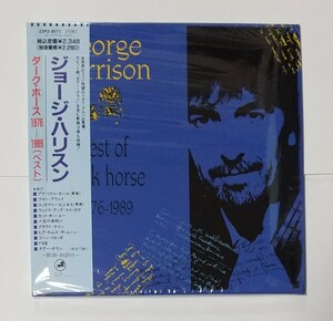 CD輸入盤リプロ盤 紙ジャケ Best of Dark Horse 1976-1989 George Harrison