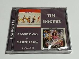 CD輸入盤リプロ盤 Tim Bogert Progressions + Master's Brew E Van halen 参加