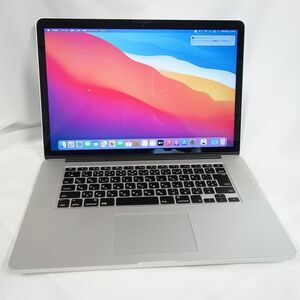 **安心30日保証** MacBook Pro Mid 2014 15インチ Core i7 2.2GHz メモリー 16GB SSD 256GB シルバー A1398 MGXA2J/A 【g0902-326-0907】清