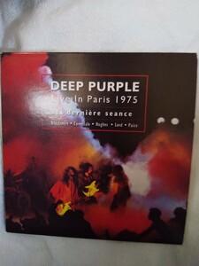 ディープ・パープル ライブ イン パリ1975紙ジャケK2HD CD 2枚組