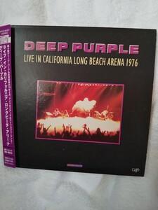 ディープ・パープル 紙ジャケットカリフォルニアロングビーチ1976年ライブ