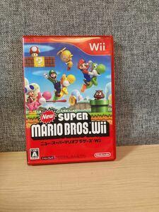 【Wii】 NewスーパーマリオブラザーズWii ニュースーパーマリオブラザーズ  任天堂
