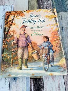 洋書 英語 児童書 絵本 Rosie's Fishing Trip