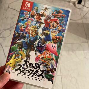 【中古・美品】 大乱闘スマッシュブラザーズSPECIAL スマブラ Nintendo Switch 任天堂スイッチ