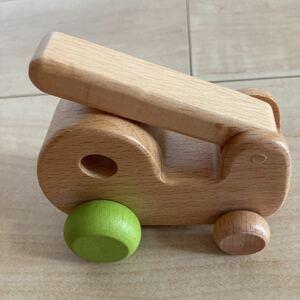 新品 木のおもちゃ 消防車 働く車 働く乗り物 木の乗り物 木製玩具 木のおままごと 知育玩具