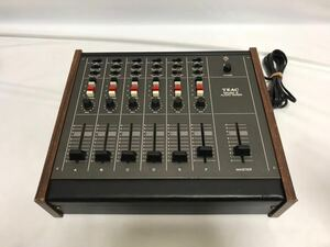 TEAC ティアック MODEL 2 Audio MIXER オーディオミキサー アナログミキサー 通電確認のみ 動作未確認 ジャンク扱い 1111s2200