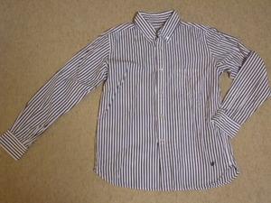 ビームスボーイ ◆ BEAMSBOY ストライプ柄のシャツ サイズ1 ◆ 美品