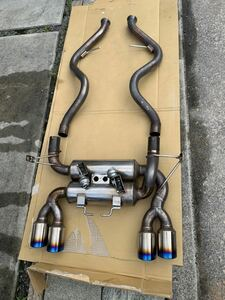 BMW e92 m3 パワークラフトマフラー バルブ切り替え式