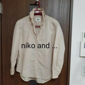 niko and ... ニコアンド 3 ベージュシャツ