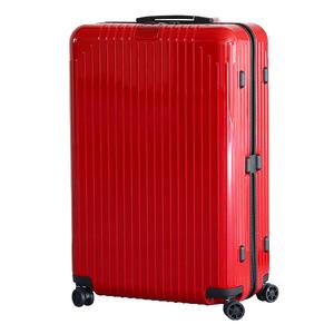アウトレット新品 未使用 RIMOWA リモワ Essential Lite Check-In L 823.73.65.4 エッセンシャルライト スーツケース キャリーケース 赤