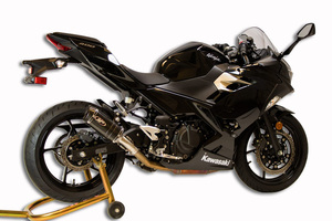 M4 / スリップオン マフラー / カワサキ Kawasaki ニンジャ400 Ninja400 ニンジャ250 Ninja250 2018- ( EX400G / EX250P )