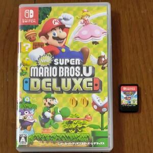 スーパーマリオブラザーズUデラックス マリオラビッツ Nintendo Switch スイッチソフト