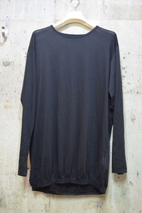 ヨウジヤマモト プールオム Yohji Yamamoto POUR HOMME 21ss ロング Tシャツ 3 HD-T38-990 C9493