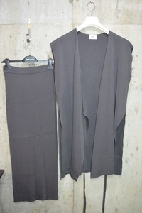 リムアーク RIM.ARK ニット カーディガン スカート スーツ セットアップ C3807
