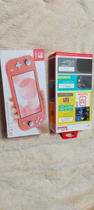 Nintendo Switch ライト コーラルピンク セット