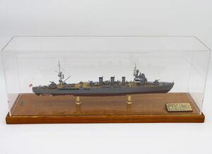 1/500 小西製作所 金属製模型 防空巡洋艦 五十鈴 完成品 軍艦 日本海軍 置物 メタルシップ 巡洋艦 konishi