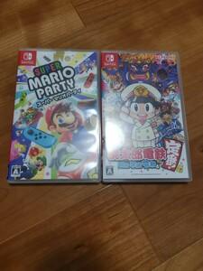 Switch スーパーマリオパーティ と 桃太郎電鉄