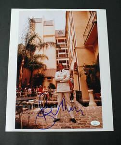 007 James Bond Roger Moore ロジャー・ムーア 直筆 サイン JSAの証明付き とても大きな写真、大きなサイン