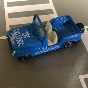 貴重 絶版 アメリカ シティポリス CITY POLICE Traffic Control ミニカー パトカー 男の子 おもちゃ プレゼント 車 トミカサイズ