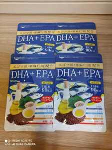 【送料無料】DHA+EPA エゴマ油+亜麻仁油配合 約1年分(約3ヶ月分x4袋) シードコムス サプリメント