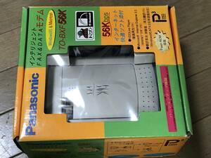 即決パナソニック/FAX&DATA/TO-BXF56K/未使用品か?Panasonicデータモデム