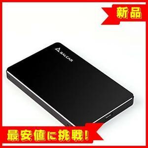 【売切り赤字!】 Salcar 2.5インチ【7mm専用】Type-C HDD/SSD ケース USB3.1 Gen1 USB-C接続 SATAⅠ/Ⅱ/Ⅲ対応 UASP対応 2TB対応