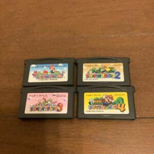 スーパーマリオアドバンス 4個セット ゲームボーイアドバンス GBA マリオシリーズ