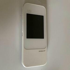 HUAWEI W04 ホワイト(UQ WiMAX) Wi-Fiルーター