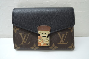 ルイヴィトン LOUIS VUITTON ポルトフォイユ・パラスコンパクト M67479 ノワール(黒) ABランク LV モノグラム BRB・バッグ・財布
