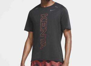 ナイキ ライズ365 ランニング Tシャツ ケニア 半袖 ウェア マラソン M NIKE