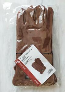 新品未使用♪ファイヤーサイドグローブ ブラウン スノーピーク snowpeak 焚火 手袋